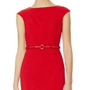 Red Limited Sheath with matching belt